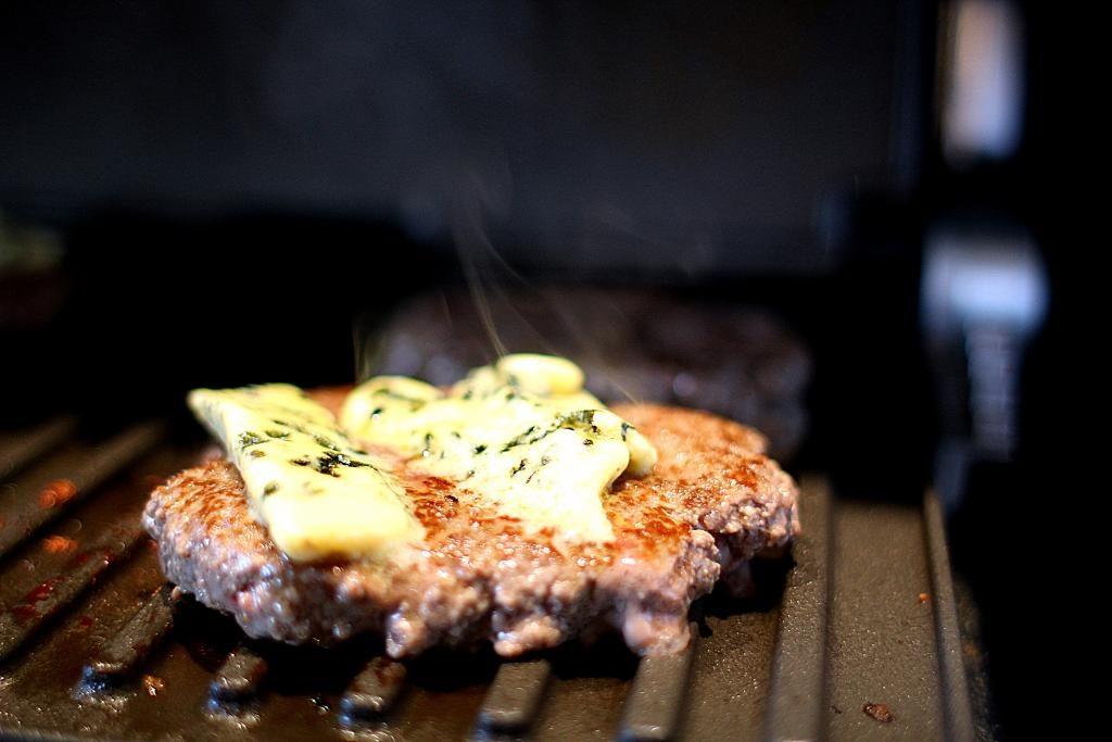 Cheeseburger med et twist!