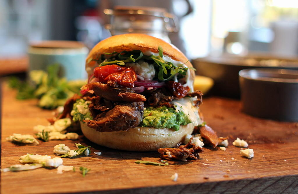 Påskefrokost: Pulled Lamb - en burger du aldrig glemmer!