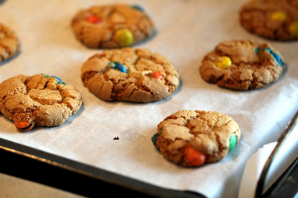 Sophias cookies med sej midte og sprød kant