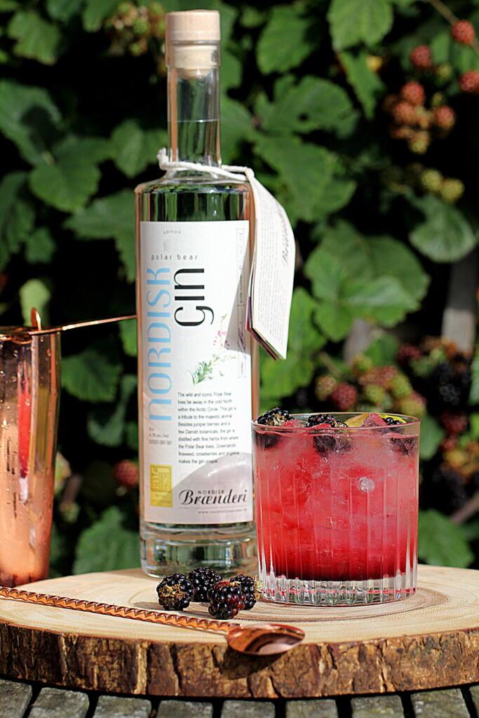 Cocktail: Bramble den perfekt efterårscocktail...