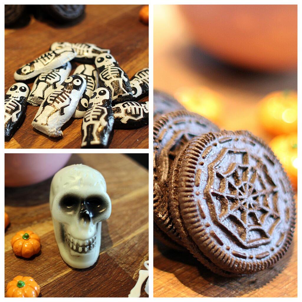 Sophias kirkegårdskage - perfekt til Halloween og Fastelavn!