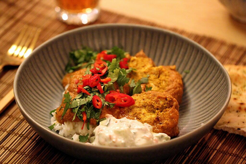 Opskrift på den lækreste Chicken Tikka Masala