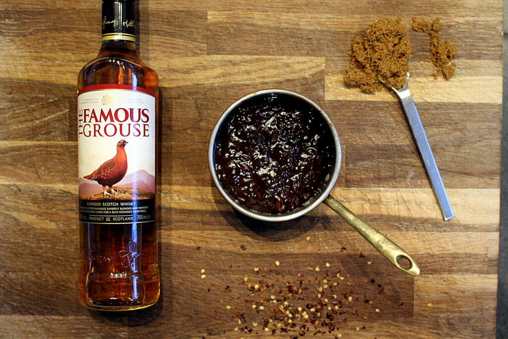 Opskrift på amerikansk barbecuesauce med whisky