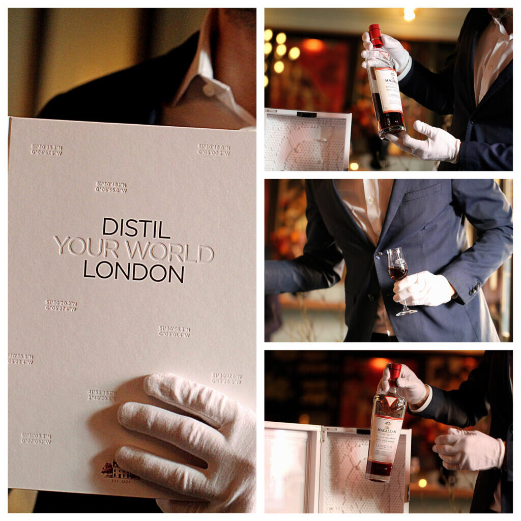 Whiskysmagning: Macallan Distil Your World: London Edition
