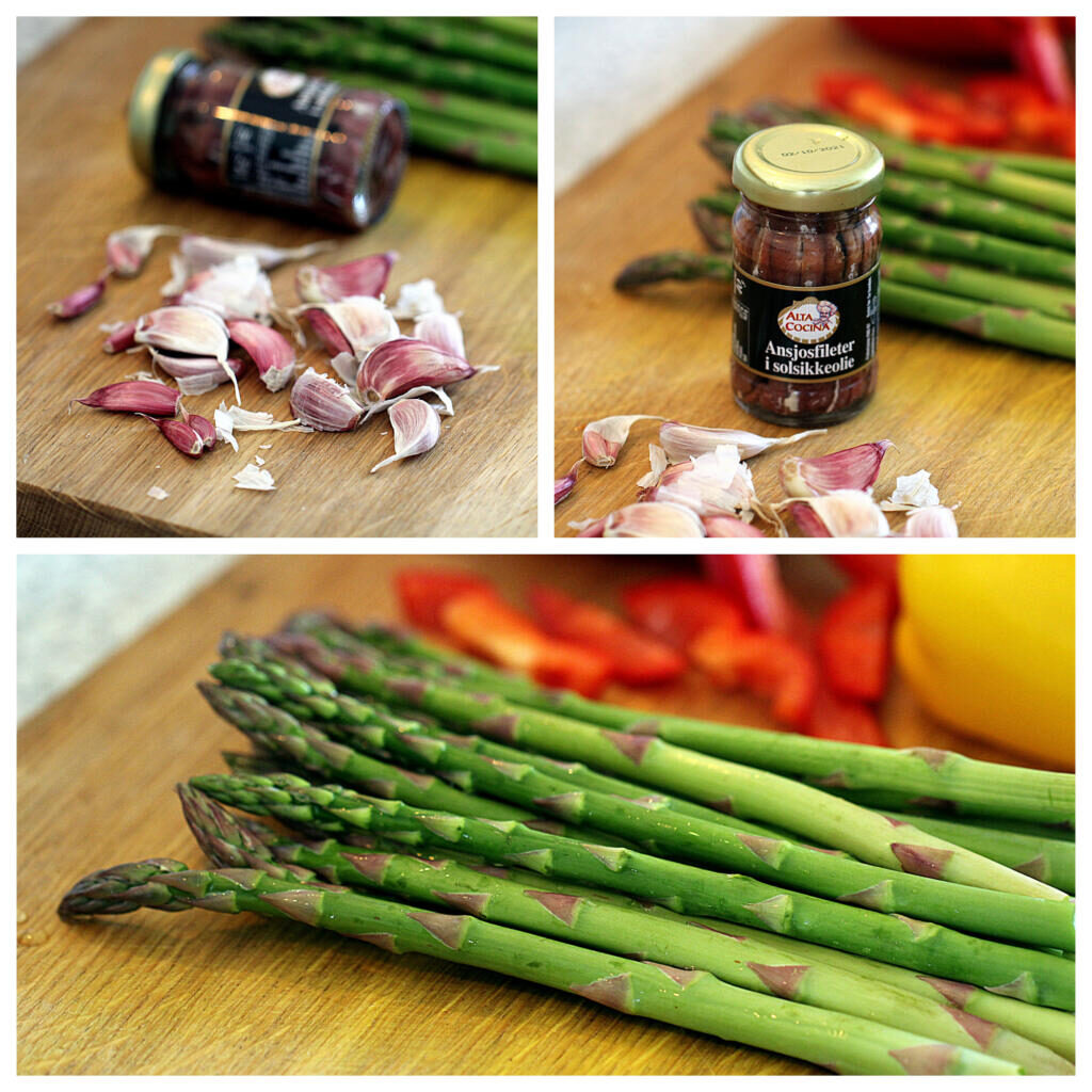 Opskrift på bagna càuda med friske grøntsager