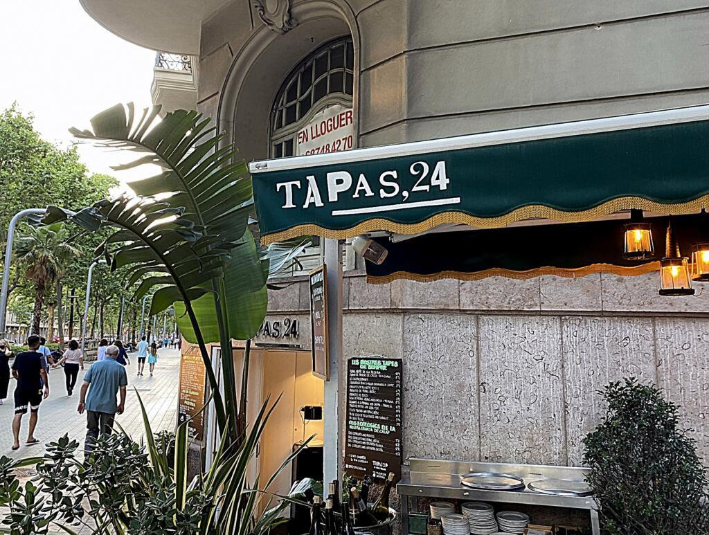 Monopolet smager på: Tapas24 i Barcelona